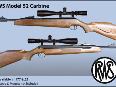 بندقية صيد موديل RWS Model52 Carbine